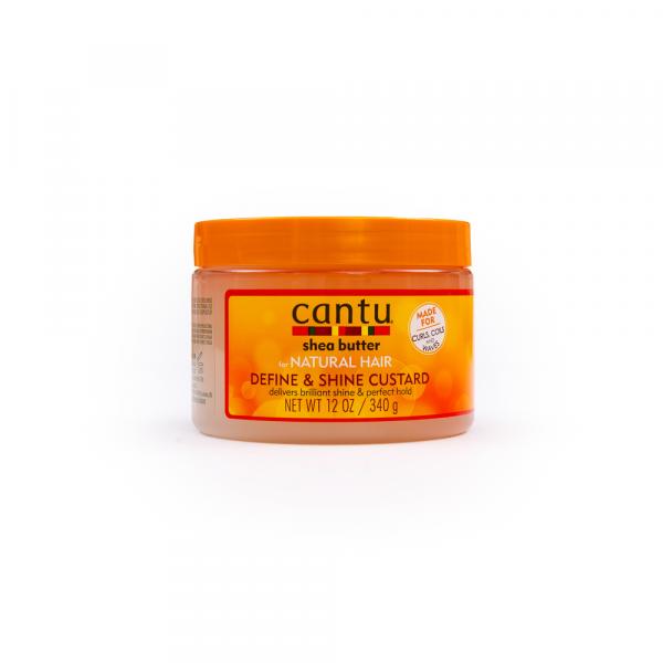Cantu - Custard definire si stralucire pentru parul cret 340 g