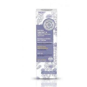 Natura Siberica - Crema hidratanta de zi pentru ten sensibil, SPF 20, 50 ml, Romania