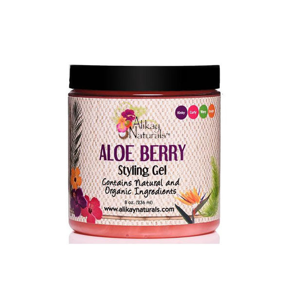 Alikay Naturals - Gel de par cu Aloe Vera si fructe, 236 ml, Romania