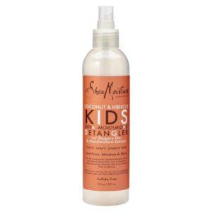 Shea Moisture - Spray pentru descalcirea parului copiilor cu cocos si hibiscus, 237 ml, Romania