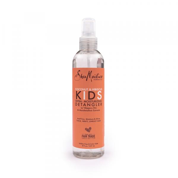 Shea Moisture - Spray pentru descalcirea parului copiilor cu cocos si hibiscus 237 ml