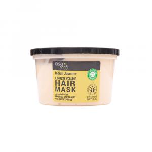 Organic Shop – Masca de par pentru volum cu iasomie si jojoba 250 ml