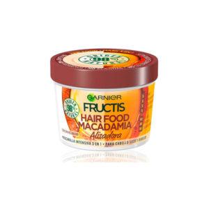 Masca par indisciplinat 3 in 1 Fructis Macadamia Hair Food, Garnier, Romania