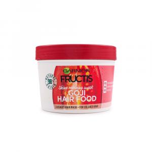 Garnier – Masca stralucire 3 in 1 Fructis Goji Hair Food 390 ml