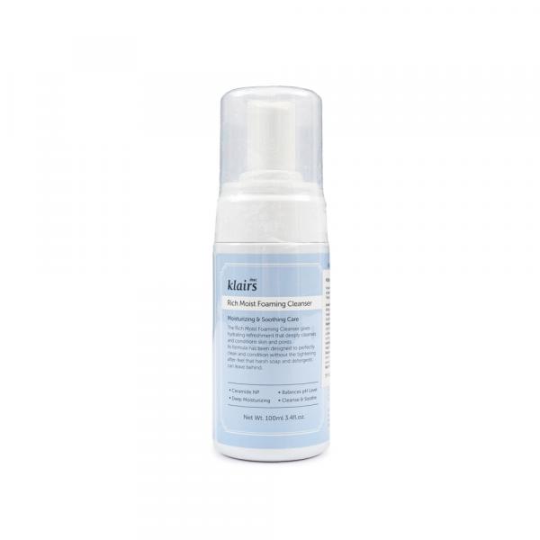 Dear, Klairs - Rich Moist Foaming Cleanser 100 ml