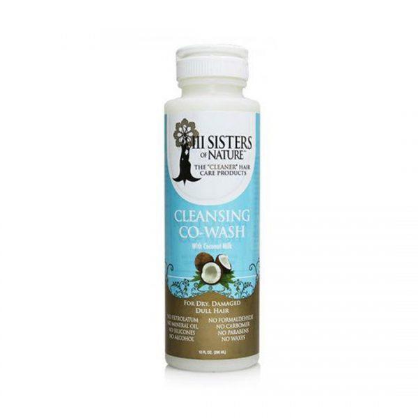 III Sisters of Nature – Balsam cu cocos pentru spalarea parului, 296 ml, Romania