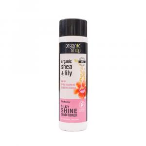 Organic Shop – Balsam de par pentru stralucire Silk Nectar 280 ml