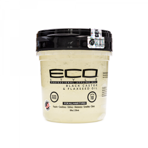 Eco Styler - Gel cu ulei de ricin negru si seminte de in 236 ml