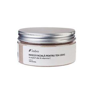 Sabio - Masca faciala cu argila Fuller și Vitamina C 250 ml, Romania