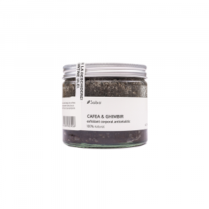 Sabio - Exfoliant anticelulitic cu cafea si ghimbir 250 ml