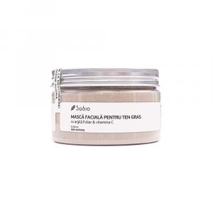 Sabio - Masca faciala cu argila Fuller și Vitamina C 250 ml