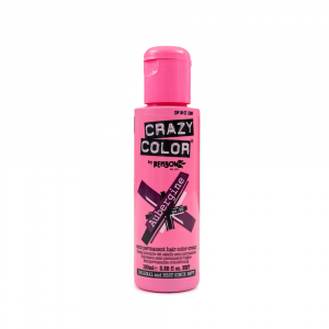 Crazy Color - Vopsea semipermanenta Aubergine 100 ml