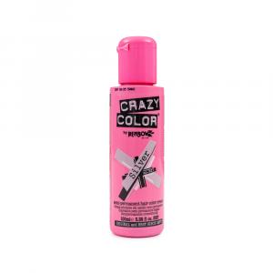 Crazy Color - Vopsea semipermanenta Silver 100 ml