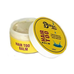 Bourn Beautiful Naturals – Unt pentru par Hair Too Balm 100 ml, Romania