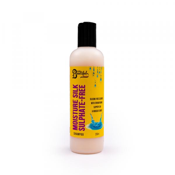 Bourn Beautiful Naturals – Sampon fara sulfati Moisture Silk 250 ml