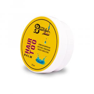 Bourn Beautiful Naturals – Unt pentru par Hair Too Balm 55 ml