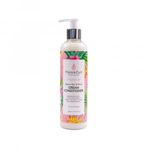 Flora & Curl – Balsam cremos cu miere si trandafir 300 ml