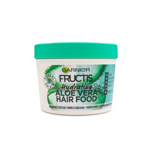 Garnier – Masca hidratanta 3 in 1 Aloe Vera Hair Food 390 ml