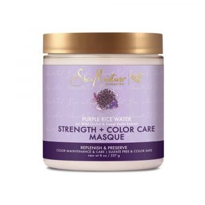 Shea Moisture – Masca fortificanta pentru protectia culorii Purple Rice Water 227 g