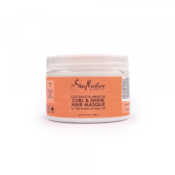 Shea Moisture – Masca cu extract de cocos si hibiscus 340 g