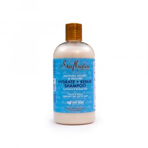 Shea Moisture – Sampon hidratant si reparator cu miere de Manuka si iaurt 384 ml