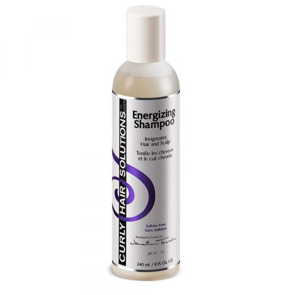 Curly Hair Solutions – Sampon energizant 240 ml