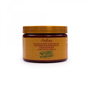 Shea Moisture – Masca intens hidratanta cu miere de Manuka si ulei de Mafura 340 ml
