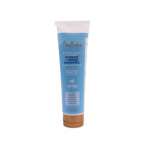 Shea Moisture – Sampon hidratant si reparator cu miere de Manuka si iaurt 305 ml