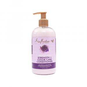 Shea Moisture – Balsam fortificant pentru protectia culorii Purple Rice Water 399 ml