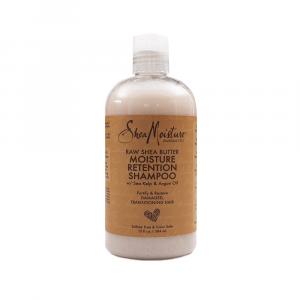 Shea Moisture - Sampon pentru retentia hidratarii cu unt de Shea 384 ml