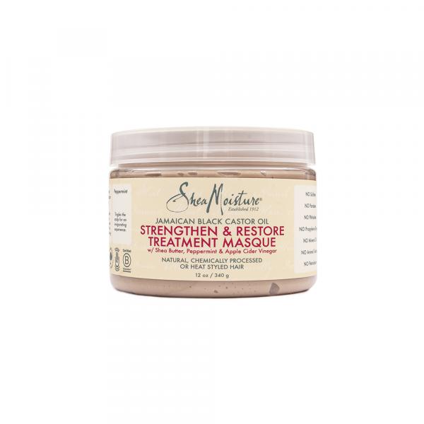 Shea Moisture – Masca fortificanta si restructuranta cu ulei de ricin jamaican 340 g