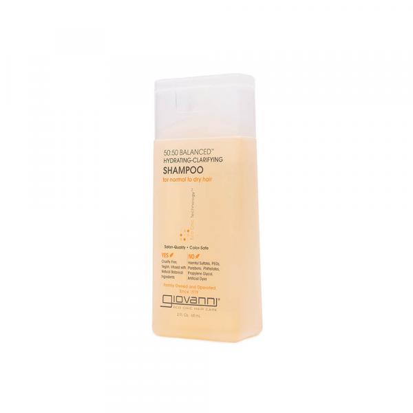 Giovanni – Sampon clarificant hidratant 50:50 Balanced 60 ml