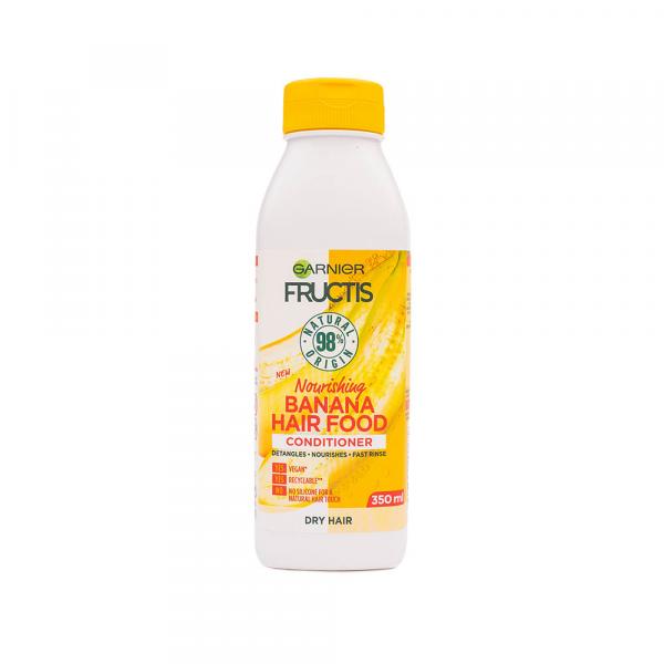 Garnier – Balsam nutritiv Fructis Banana Hair Food 350 ml