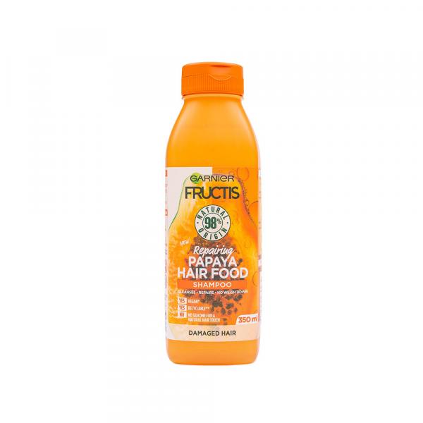 Garnier – Fructis Hair Food Papaya sampon regenerator 350 ml