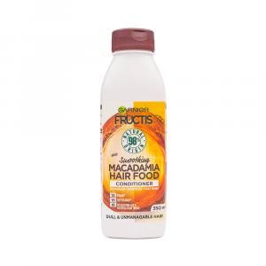 Garnier – Balsam pentru par indisciplinat Fructis Macadamia Hair Food 350 ml