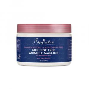 Shea Moisture - Masca Sugarcane Extract & Meadowfoam Seed Silicone Free Miracle 340 ml