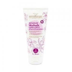 MaterNatura – Crema pentru descalcirea parului cret cu unt de murumuru 200 ml