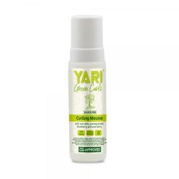 Yari Green Curls - Spuma pentru par cret 220 ml